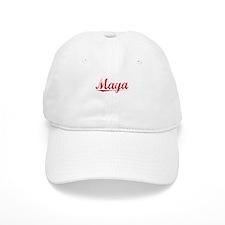 Maya, Vintage Red Baseball Cap