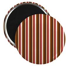 "Autumn Vertical Stripes 2.25"" Magnet (10 pack)"