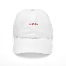 Mcallister, Vintage Red Cap