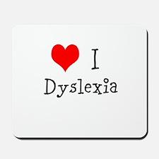 3 I Dyslexia Mousepad
