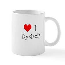 3 I Dyslexia Mug