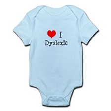 3 I Dyslexia Infant Bodysuit