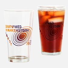 I Survived Frankenstorm Sandy Drinking Glass