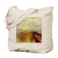 Rain, Steam and Speed by Turner Tote Bag