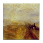 Rain, Steam and Speed by Turner Tile Coaster