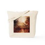 Mount Vesuvius in Eruption by Turner Tote Bag