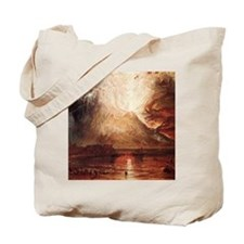 Mount Vesuvius in Eruption by Turner Tote Bag