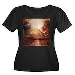 Mount Vesuvius in Eruption by Turner Women's Plus