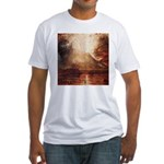 Mount Vesuvius in Eruption by Turner Fitted T-Shir