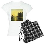 Caernarvon Castle by Turner Women's Light Pajamas