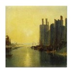 Caernarvon Castle by Turner Tile Coaster