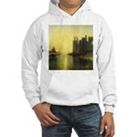 Caernarvon Castle by Turner Hooded Sweatshirt