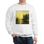 Caernarvon Castle by Turner Sweatshirt