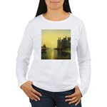 Caernarvon Castle by Turner Women's Long Sleeve T-