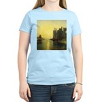 Caernarvon Castle by Turner Women's Light T-Shirt