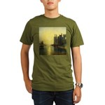 Caernarvon Castle by Turner Organic Men's T-Shirt