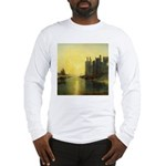Caernarvon Castle by Turner Long Sleeve T-Shirt