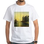 Caernarvon Castle by Turner White T-Shirt