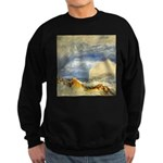 Bass Rock in Scotland by Turner Sweatshirt (dark)
