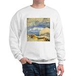 Bass Rock in Scotland by Turner Sweatshirt