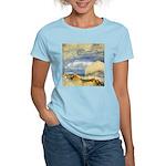 Bass Rock in Scotland by Turner Women's Light T-Sh