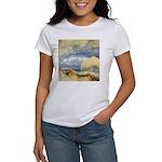 Bass Rock in Scotland by Turner Women's T-Shirt