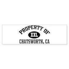 Property of CHATSWORTH Bumper Bumper Sticker