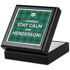 Henderson Keepsake Box