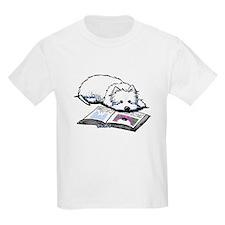 Book Lover Wendell Westie T-Shirt