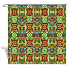 ethnic.jpg Shower Curtain