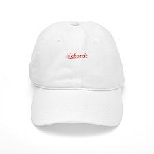 Mckenzie, Vintage Red Baseball Cap