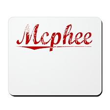 Mcphee, Vintage Red Mousepad