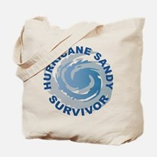 Hurricane Sandy Survivor 2012 Tote Bag