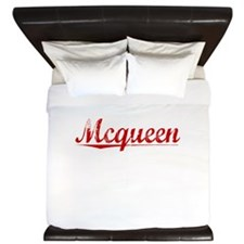 Mcqueen, Vintage Red King Duvet