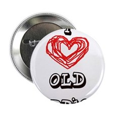 """old hippies 2.25"""" Button"""