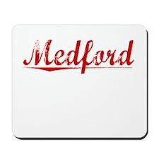 Medford, Vintage Red Mousepad