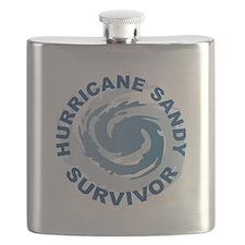 Hurricane Sandy Survivor 2012 Flask