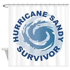 Hurricane Sandy Survivor 2012 Shower Curtain