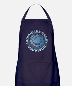 Hurricane Sandy Survivor 2012 Apron (dark)