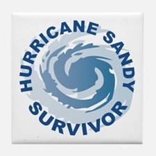 Hurricane Sandy Survivor 2012 Tile Coaster