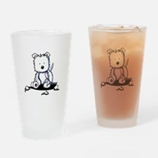 TP Muggles Westie Drinking Glass