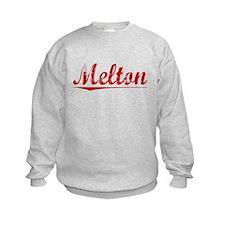 Melton, Vintage Red Sweatshirt