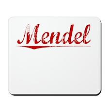 Mendel, Vintage Red Mousepad