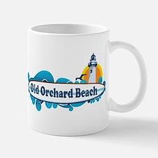 Old Orchard Beach ME - Surf Design. Mug