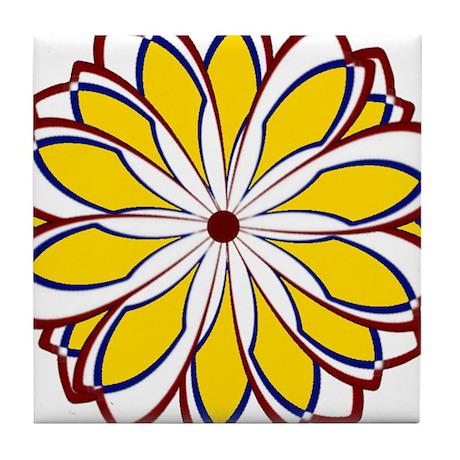 Blooming Marvelous Tile Coaster