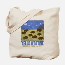 Cute Yellowstone national park Tote Bag