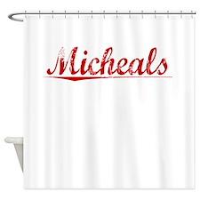 Micheals, Vintage Red Shower Curtain