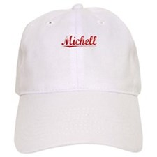 Michell, Vintage Red Baseball Cap