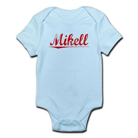 Mikell, Vintage Red Infant Bodysuit