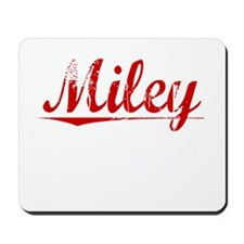 Miley, Vintage Red Mousepad
